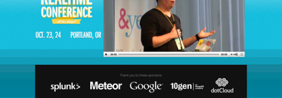 The Realtime Conference 2012 Webcast